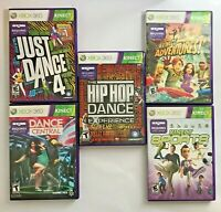 Lot Of 5 Xbox 360 Kinect Games Complete Excellent Condition Shipped Free/Fast!