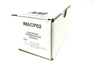 NEW SEALED ASI IMACP02 POWER OUTLET MODULE IMACP02
