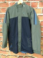 Vintage Y2K Nike Jacket Reversible Size 18-20 Mens Medium Powder Blue Navy Grey
