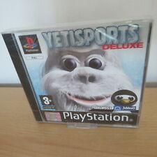 PS1 playstation1  YETI SPORTS deluxe   new factory sealed  pal
