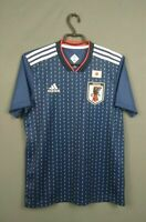 Japan jersey 2018 2019 home shirt adidas MENS BLUE ADULT football CV5638 ig93