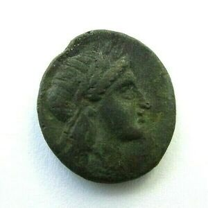 ANCIENT GREEK MYSIA Gambrion Bronze Coin circa 350-300 BC (118)