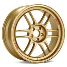 18x8 Enkei RPF1 5x100 +45 Gold Wheels (Set of 4)