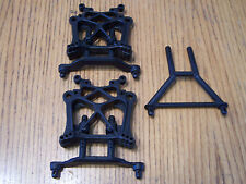 HPI Savage X 4.6 Front & Rear Shock Towers Body Posts Mounts 5.9 XL Flux Octane
