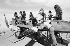 NEW 6 X 4 PHOTOGRAPH BEHIND THE SCENES MAKING OF STAR WARS 2
