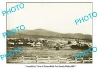 OLD 6x4 PHOTO VIEW OF TENTERFIELD NEW SOUTH WALES c1887