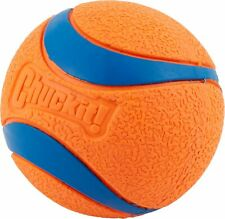 Chuckit Medium Ultra Ball Tough Dog Puppy Rubber Bounce Toy - EXTRA LARGE