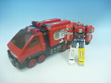 BANDAI Gogo Five V Pyro Rescue 1 and Mini Light Speed Zord Set EMS from JAPAN