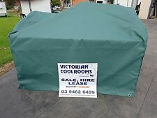 Trailer Cage Canvas 6x4x2 Green/Black/Blue