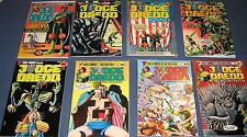 8 Issues Of Jugge Dredd #3, 4, 6, 16, 23 Judge Child Quest #1, 2, 4