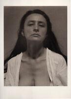 GEORGIA O'KEEFFE,  Portrait by ALFRED STIEGLITZ,  Tritone Photo 1918 / 1978