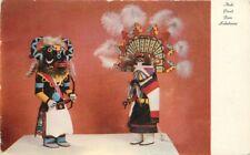 1950s Kachina Dolls Arizona Native American Indian Art Dexter postcard 1169