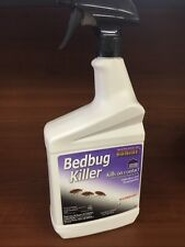 Bonide Bedbug Spray 32 oz Rtu Also kills ticks lice clothes moths and other pest