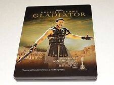 GLADIATOR 2 Disc STEELBOOK Blu-Ray Disc SAPPHIRE SERIES Russell Crowe EXTENDED+