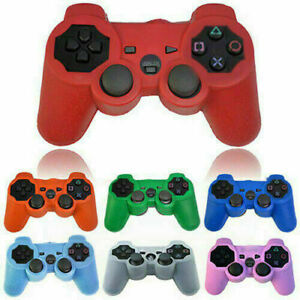 For Playstation PS2, PS3 Controller Gamepad Silicone Protective Skin Cover Case