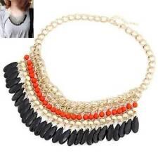 Markenlose Modeschmuck-Halsketten & -Anhänger aus Metall-Legierung mit Perlen