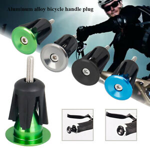 2PC Road Bike Handlebar Tape Cycling Grips Anti Slip Wrap Ribbon Bar Plugs-