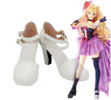 Macross Frontier F Sheryl Nome Cosplay Kostüme Costume Schuhe Shoes White