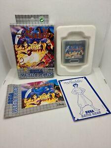 Aladdin Disney - Sega Game Gear - Pal EUR FR - Complet - 100% original