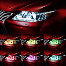 Side Bulb 2X T10 6 SMD Reading Wedge Lights Car Remote Control RGB LED W5W 501