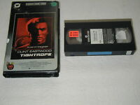 CLINT EASTWOOD TIGHTROPE FACTORY CLAMSHELL 1984 VHS RARE HTF OOP