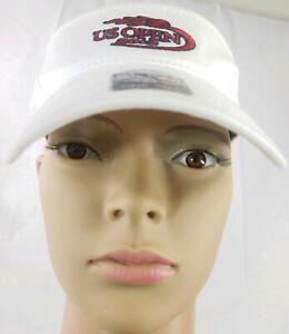 Forty Seven Womens Visor White Adjustable Tennis Cap US Open 2013 Ligo One Size