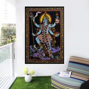 Indian Goddess Kali MATA Decorated Print Wall Decor Hindu Religious Poster 30x40