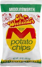 Two Bags Middleswarth Regular Chips Weekender 10 oz. A True Pennsylvania Classic