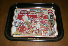 COCA COLA COKE 1996 THROUGH THE YEARS METAL TRAY