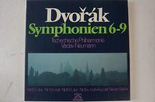 Antonin Dvorak Sinfonien 6-9 Kassette 4 LP Vaclav Neumann Tschech. Philharm(LP6)