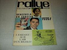 RALLYE 67 (10/64) JACQUES BREL FRANCE GALL JEAN FERRAT FAIZANT JAMES DEAN PELE