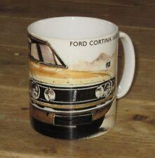 Ford Cortina 1600E Artwork MUG