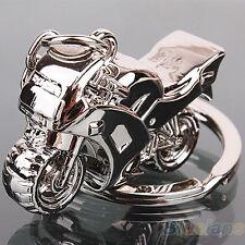 Fashion Men Cool Motorcycle Pendant Alloy Keychain Car Key Ring Key Chain _GG