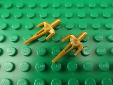 Lego Mini Figure TMNT Teenage Mutant Ninja Turtles Sai Weapon 98139 Pearl Gold