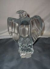 Baccarat Lead Crystal French Napoleonic Imperial Eagle Figurine Sculpture MINT