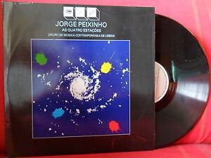 1982 JORGE PEIXINHO Quatro Estações LP NMINT Psych Acid ELECTRONIC Stockhausen