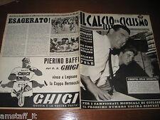 IL CALCIO E CICLISMO ILLUSTRATO 1962/34=NEREO ROCCO=RIVERA=MILAN=PIERINO BAFFI=