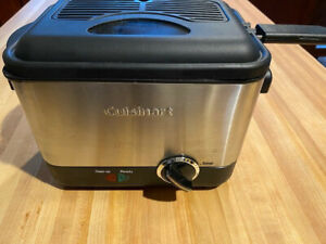 Cuisinart CDF-100 Deep Fryer, Brushed Stainless Steel