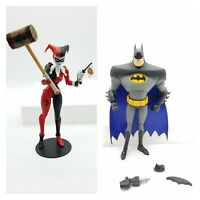 Mcfarlane DC Multiverse Batman & Harley Quinn Animated Version Loose Figures