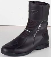 Prexport Krios Black Leather Waterproof Motorcycle Boots New RRP £109.99!!!