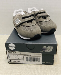 New Balance 574 Series IV574GG Grey Sneakers Kids Infant Toddler Shoes Size 4 W