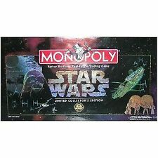 Star Wars Monopoly 1996 Limited Collectors Edition 20th Anniversary