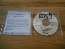 CD Pop Vince Gill - Whenever You Come Around (3 Song) Promo MCA REC / Presskit