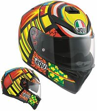 CASCO MOTO INTEGRALE AGV K3 SV PINLOCK TOP VR46 ELEMENTS VALENTINO ROSSI TG MS