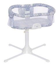 Halo Bassinest Swivel Sleeper Bassinet Luxe Infant Baby Crib Blue Medallion