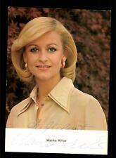 Marika Kilius Rüdel Autogrammkarte Original Signiert # BC 63486