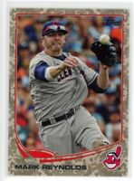 2013 Topps Update US64 MARK REYNOLDS Cleveland Indians CAMO BORDER PARALLEL #/99