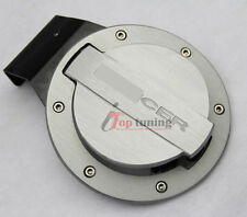Alloy Fuel Door Oil Gas Cover Tank Cap Lid Seal for Mitsubishi Lancer 2008-2013