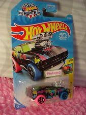 '69 CAMARO Z28 #277 US 50✰black; pink/blue✰ART CARS 'Y'✰2018 Hot Wheels Case N