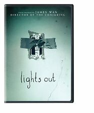 Lights Out (DVD, 2016) FREE FIRST CLASS SHIPPING!!!